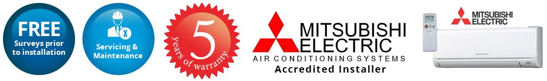 mitsubishi air conditioning Solihull